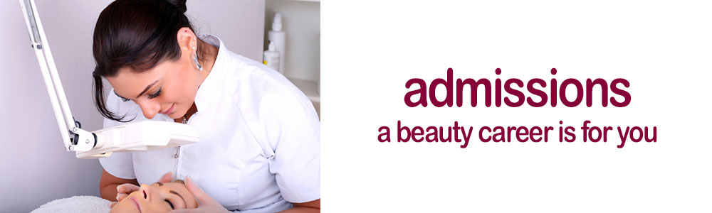 Admissions A Beauty Career is for you!