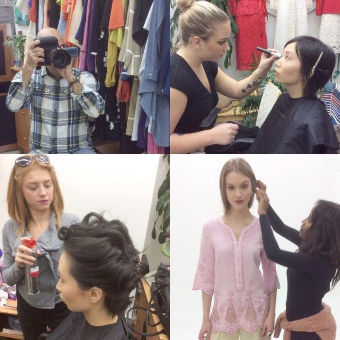 JSong Fashion Shoot Prep