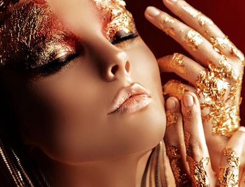 3D Body Art with Makeup